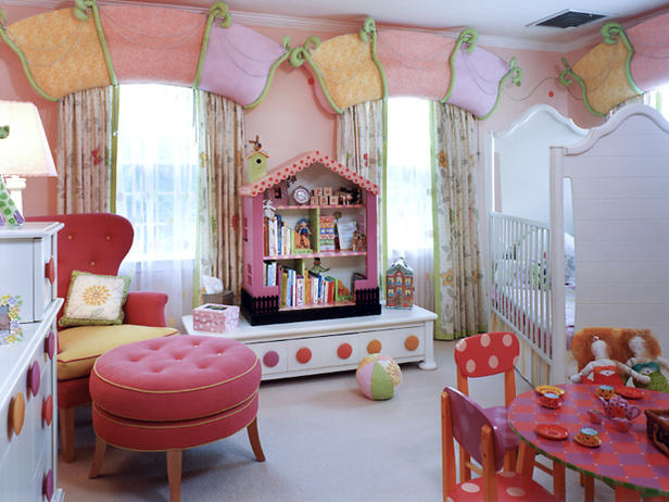 Kids Room Window Treatments and Design Ideas - CoCo Curtain Studio