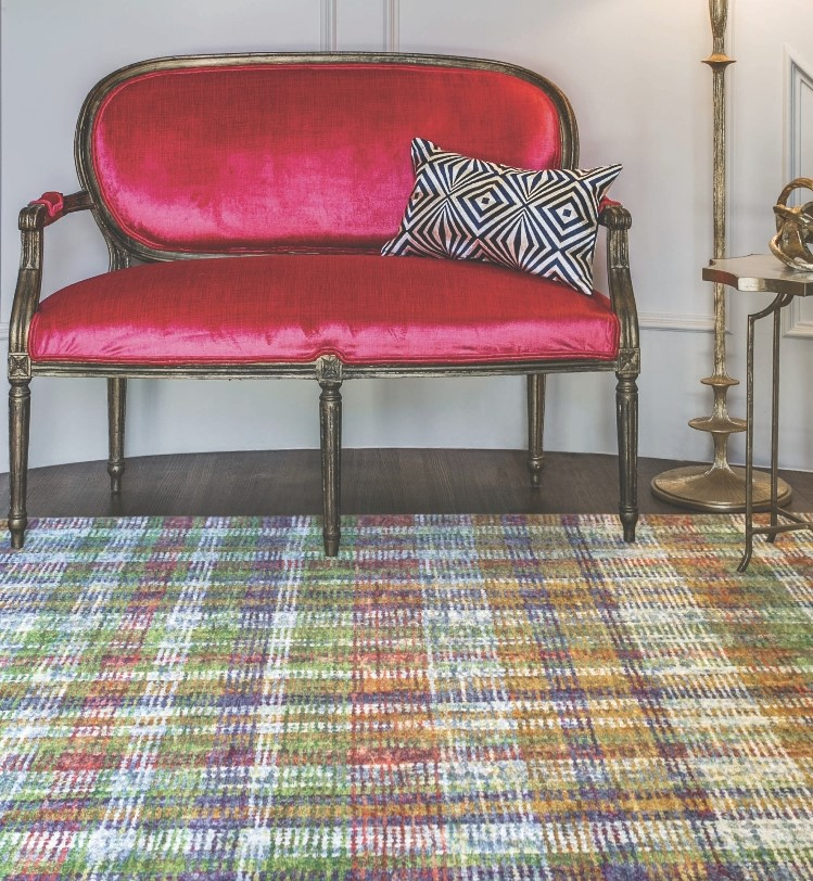 red seat w rug