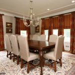 Curtain Panels with coordinating roman shades