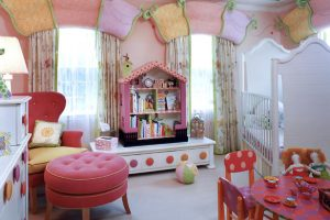 Kids room window treatments