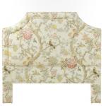 Floral Fabric Headboard